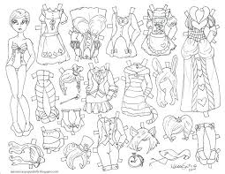The Best Free Doll Coloring Page Images Download From 1407 Free