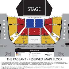 Saint Louis Seating Chart Seating Maps The Pageant