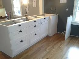 assembling ikea kitchen cabinets. Simple Ikea Installing Rta Ikea White Kitchen Cabinet With Black Cup Drawer Handles And  Knob For Assembling Cabinets O