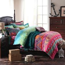 boho duvet covers uk chic bedding sets bohemian style are comfy ethnic morocco country cover queen boho chic bedding sets