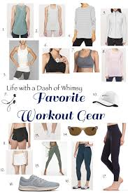 all the best workout gear stripes and