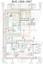 66 vw wiring diagram vw tech article 1966 67 wiring diagram vw 1500 sedan and convertible wiring key
