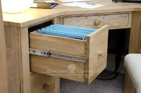 woodbridge oak corner desk office desks and dressing tables pine bury