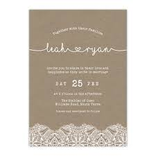 wedding invitations with hearts wedding invitations online australia rustic heart white on kraft