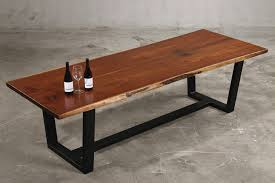 solid wood dining table. Walnut Wood Slab Tables Solid Dining Table