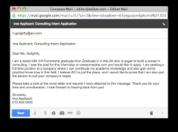 Email Cover Letter Subject Line Application Emails How To Get Noticed From The First Line
