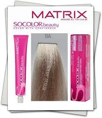 Matrix <b>SOCOLOR</b> beauty <b>Краска для волос</b> 11A, Ультра светлый ...