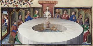 Knights Of The Round Table Wiki Fileholy Grail Round Table Bnf Ms 120 F524v 14th Detailjpg