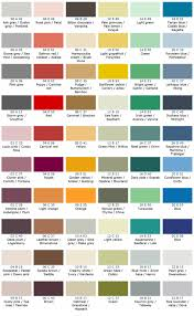Bs To Ral Conversion Chart Color Standards Chart Bs4800 Color Chart British Standard
