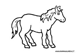Cavalli Da Disegnare Facili Migliori Pagine Da Colorare