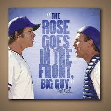 Bull Durham Quotes Awesome Bull Durham CRASH DAVIS Rose Goes In The Front Quote Poster 48