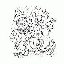 60 Prins Carnaval Tekening Kleurplaat 2019