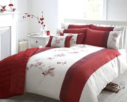full size of red pintuck duvet cover beautiful red colour embroidered faux silk duvet cover luxury