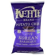 <b>Картофельные чипсы</b>, корейское барбекю, <b>5</b> унций (142 г) - iherb ...
