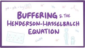Henderson Hasselbalch Buffering And Henderson Hasselbalch Equation