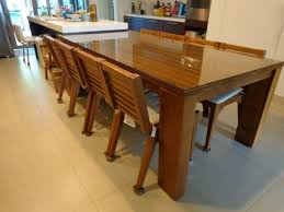solid teak wood dining table 8 seater