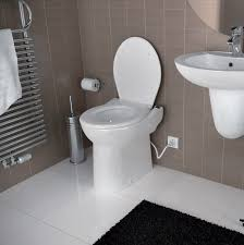 install your bathroom anywhere with upflush toilet