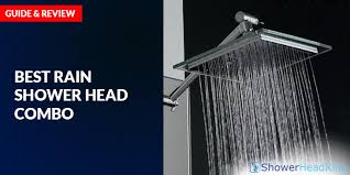 best rain shower head combo guide and review