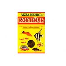 "<b>Корм Аква меню</b> ""<b>Коктейль</b>"" ежедневный для аквариумных рыб (2 ..."