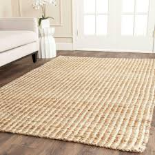 6 x 9 sisal area rugs rugs the home depot natural fiber beige ivory 6 ft x 9 ft area rug
