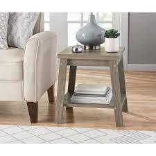 oak side table. Logan Side Table, Color Rustic Oak Table