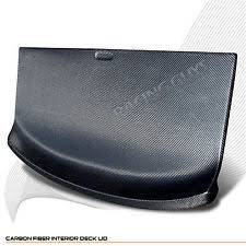 240sx interior for 1989 1994 nissan 240sx s13 hatchback carbon fiber rear trunk deck lid cover