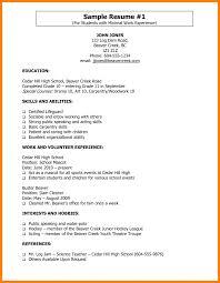 Lifeguard Resume Skills 24 Lifeguard Resume Skills Quit Job Letter Description Norm Sevte 4
