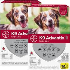12 Month K9 Advantix Ii Red For Large Dogs 21 55 Lbs