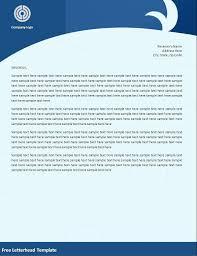 Letterhead Template Free Download Unique Microsoft Word Letterheads
