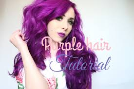 Purple Hair Style purple hair dye tutorial by july langdon arctic fox hair color 8714 by wearticles.com