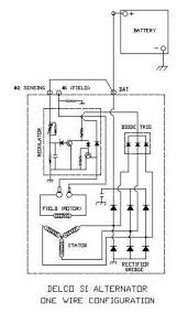 wire diagram for alternator wiring diagram schematics onewirealternator