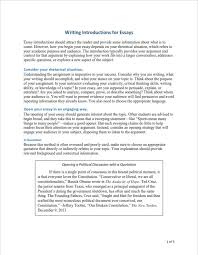 Essays Introduction Examples How To Write An Essay Writing Tips And Examples