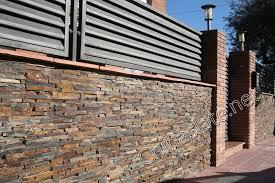 rusty slate wall house rust slate wall rough