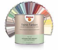 Alpina Feine Farben - Alle Farbtöne, 2,5L Dose | Wandfarbe ...
