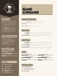 Simple Resume Design Templates Memberpro Co 46955612 Minimalist Cv