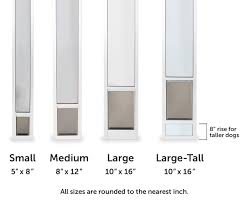 choose the pet door size