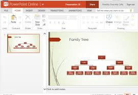 Family Tree Chart Online Family Tree Chart Maker Template For Powerpoint Online