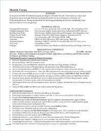 Leadership Qualities In Resume Bestresumeideas Com