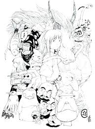 spirited away coloring pages. Delighful Coloring Featured Artist R On Grimes Com Spirited Away Coloring Book Colouring Pages  Full Size On Spirited Away Coloring Pages