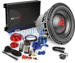 cerwin vega vmax124 12 sub mb quart fx1 600 mono amp kit 1000w cerwin vega mb quart bass bundle