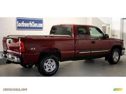 2005 Chevrolet Silverado 1500 Z71 Extended Cab 4x4 in Sport Red ...