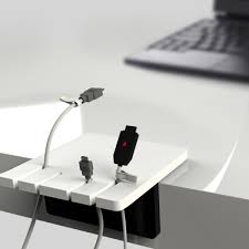 Finger Jack Holder  Cable Organizer by Lee Hugon & An Hyeonjeong