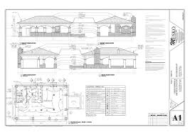 Modern Pool House Plans With Bar Design Plan 0005 Designs Inside Innovation