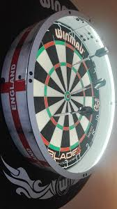 new fit all boards maxlite360 darts led light lighting surround dartboard mount