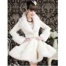 2016 new women white coat winter warm coat jpg