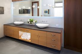 modern bathroom double sinks. Manhattan Ave Residence Modern-bathroom Modern Bathroom Double Sinks