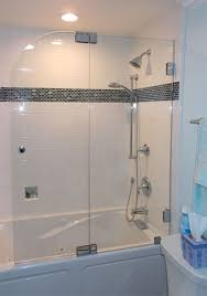 frameless glass splash guard installation orange county ca martin shower door