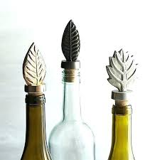 decorative wine bottle stoppers f glass uk