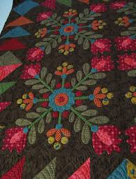Kim Diehl folk art quilt featured at Textile House | Folk Art ... & Kim Diehl folk art quilt featured at Textile House Adamdwight.com