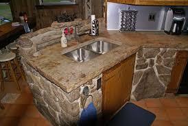 resurfacing countertops with concrete remarkable kitchen countertop design gallery interior 8